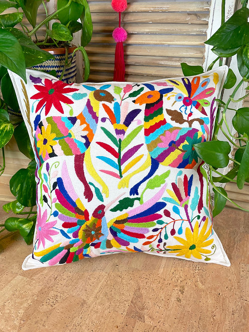 Otomi cushion cover - Multicolor #29