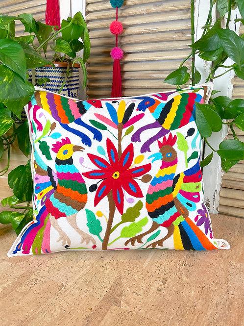 Otomi cushion cover - Multicolor #28