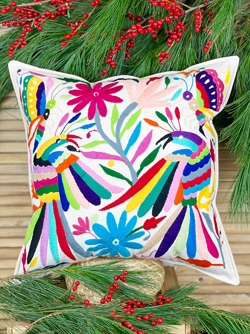 Otomi cushion cover - Multicolor #41