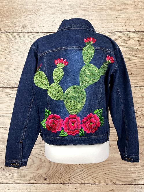 Jeans Jacket -  Cactus size 36 - Dark denim