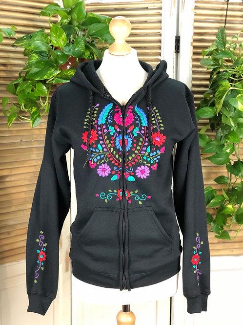 Tehuacan Hoodie with zipper - Medium