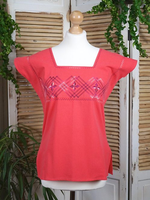 Xhuna blouse - Coral S/M