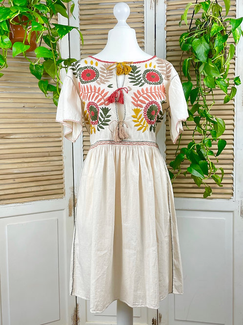 "Margarita dress open ""Earth"" - Medium size"