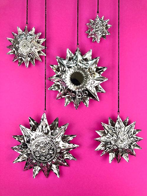 Stars - Tin ornaments