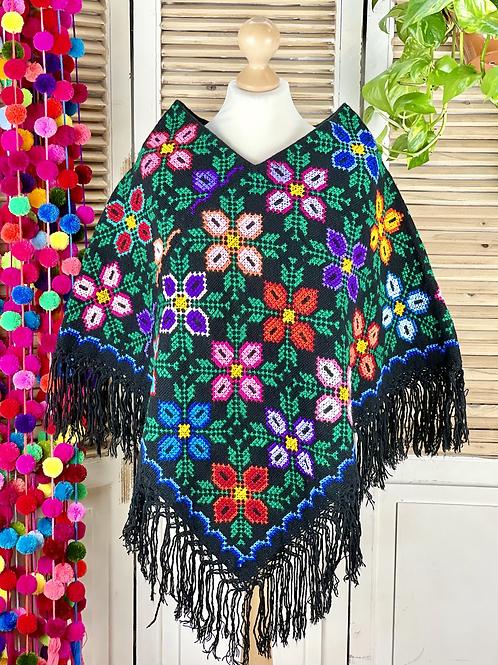 Quexquemitl - Flores