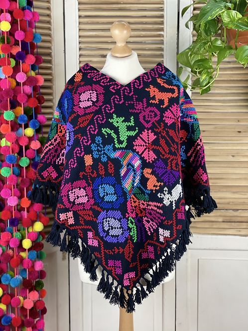 Quexquemitl - Flowers fiesta 3