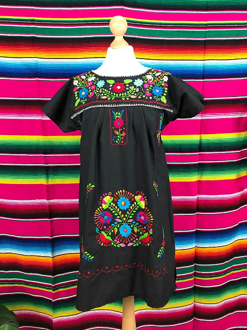 Black Puebla dress - Small