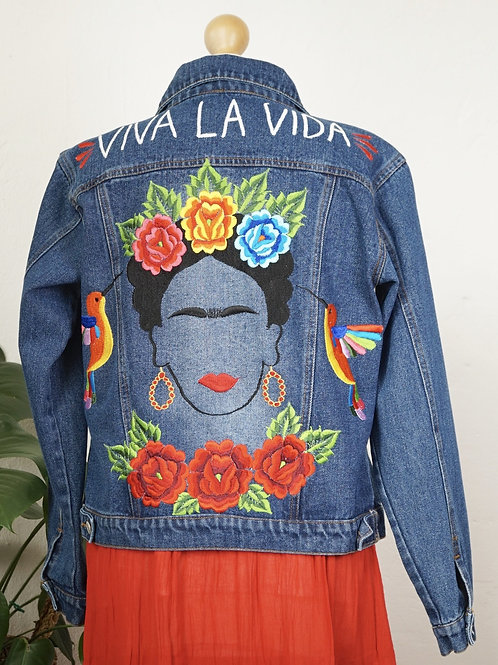 Jeans Jacket - Frida size 34 / Dark blue