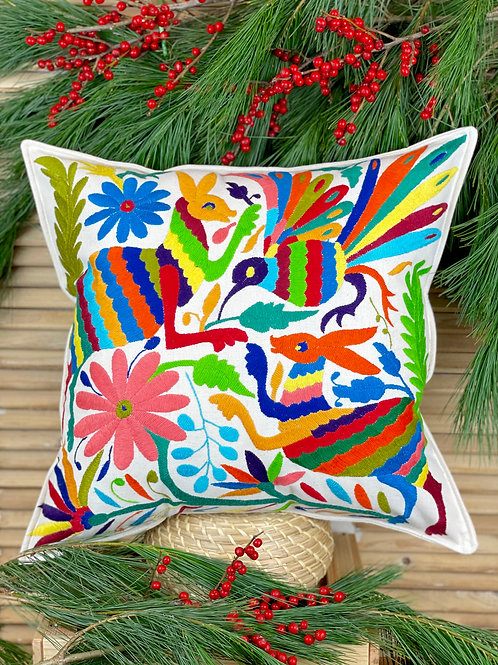 Otomi cushion cover - Multicolor #36