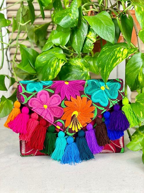Las Flores clutch bag - Multicolor 3