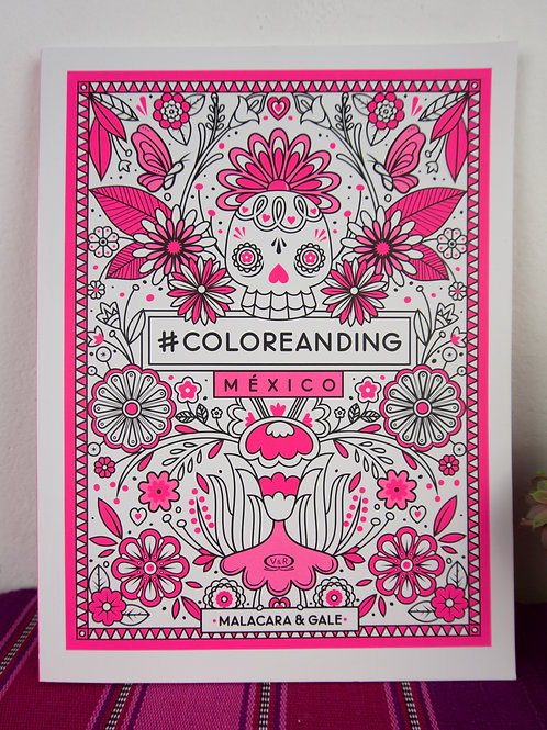 MEXICO colouring book