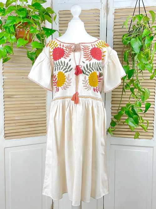 "Margarita dress open  ""Earth"" - Small size"