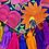 Thumbnail: Las Flores clutch bag - Multicolor 2