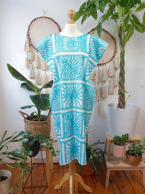 Palmita dress Turquoise