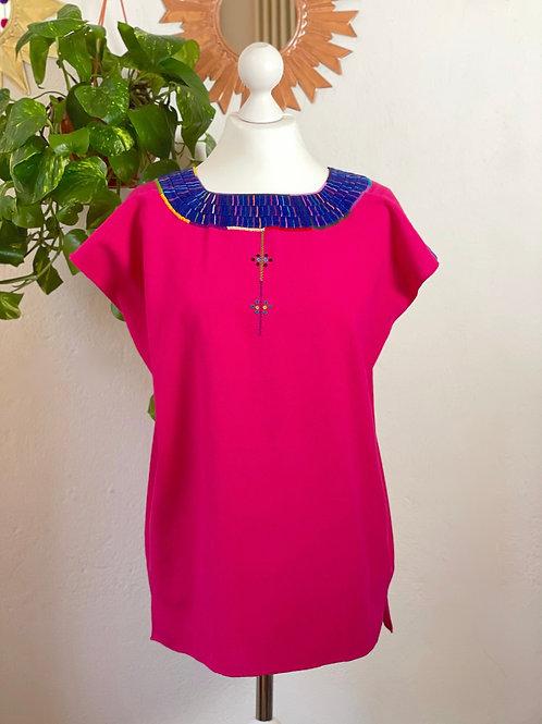 Santa Martha blouse fucsia - M/L