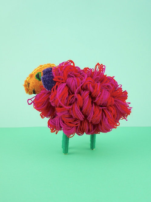Handmade wool sheeps - Mini
