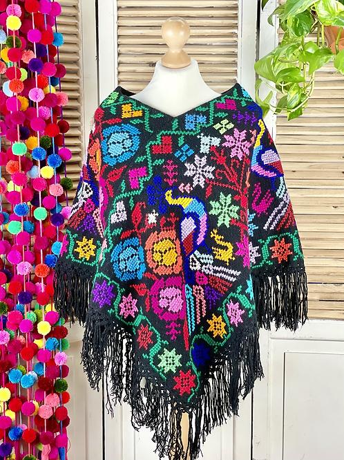 Quexquemitl - Flowers fiesta 2