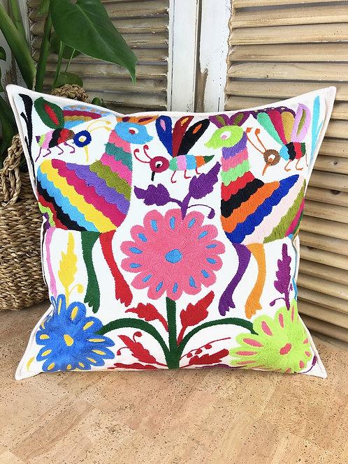 Otomi cushion cover - Multicolor #19