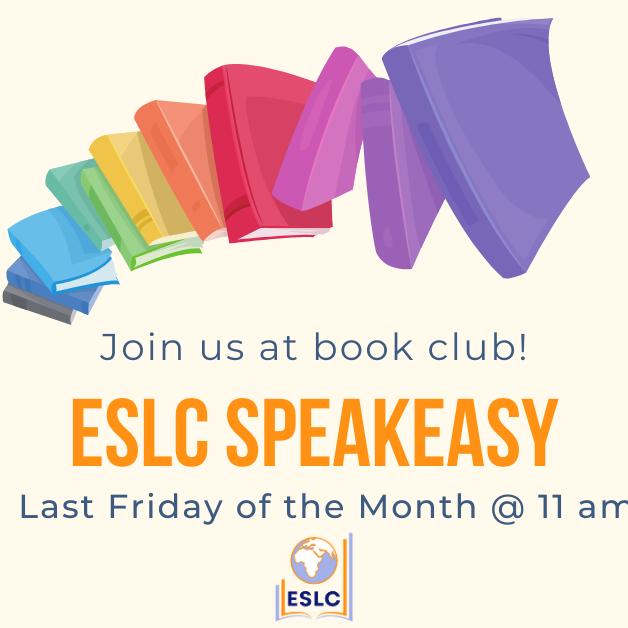 The ESLC Speakeasy (Virtual Book Club)