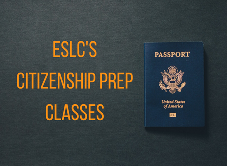 A Citizenship prep class with a 96% pass rate!