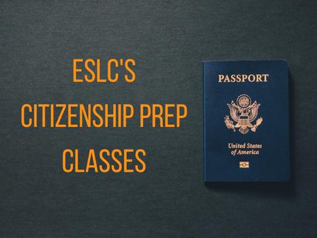 A Citizenship prep class with a 96% pass rate!