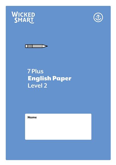 English paper Level 2
