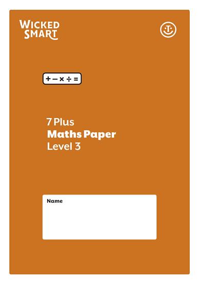 7+ Maths paper Level 3