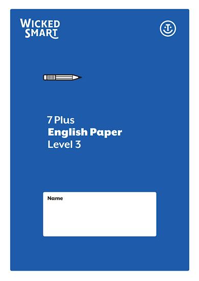 English paper Level 3