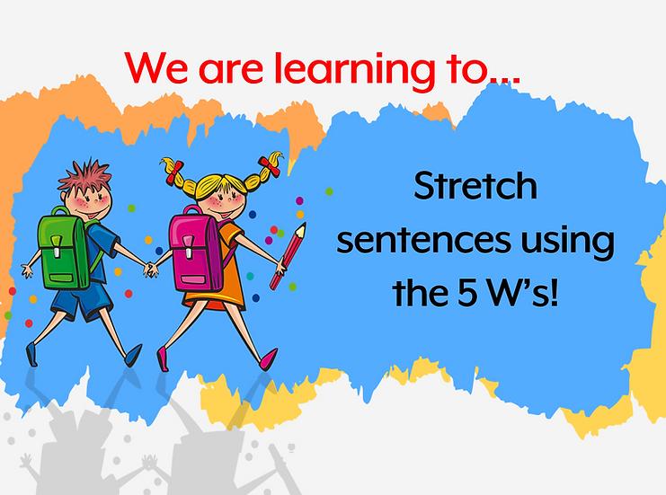 Stretch a sentence Powerpoint