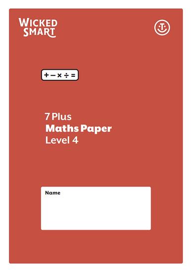 7+ Maths paper Level 4