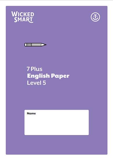English paper Level 5