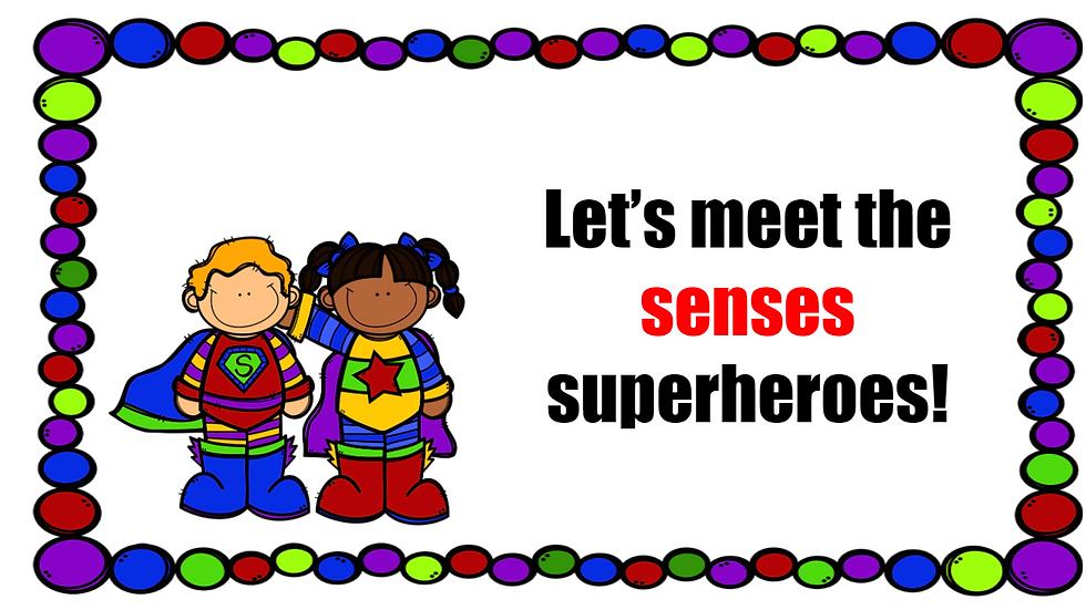 Writing setting descriptions using the 5 senses