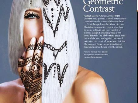 HairTalk Beauty Editorial Photoshoot for Modern Salon