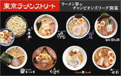 Food: Tokyo Ramen Street