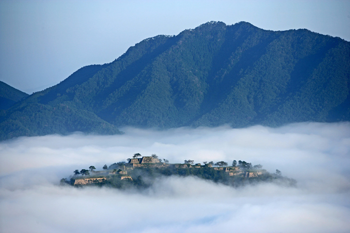 Takeda Castle at Asago