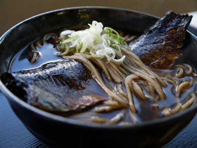 Food: Nishin Soba (Herring Soba)