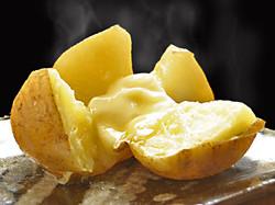 Food: Hokkaido Potato and Butter