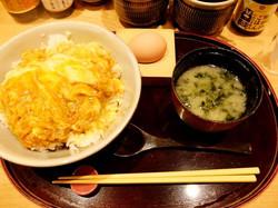 Food: Raw egg in Haneda Airport