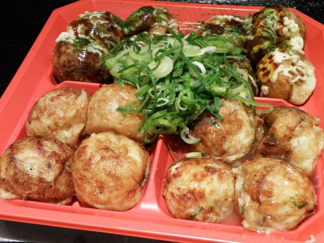Food: Takoyaki