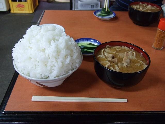 Food: Tonjiru (豚汁) in Kadoya Syokudo