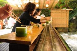 Food: Nagashi Somen (Flowing noodle)