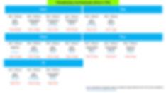 tomo japanese language centre timetable class schedule