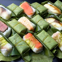 Nara Food: Kakinoha Sushi