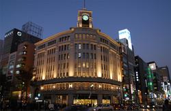 Big sales in department stores