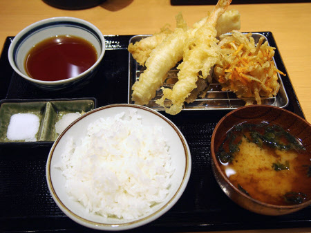 Food: Tempura at Makino