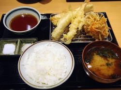 Food: Tempura at Makino