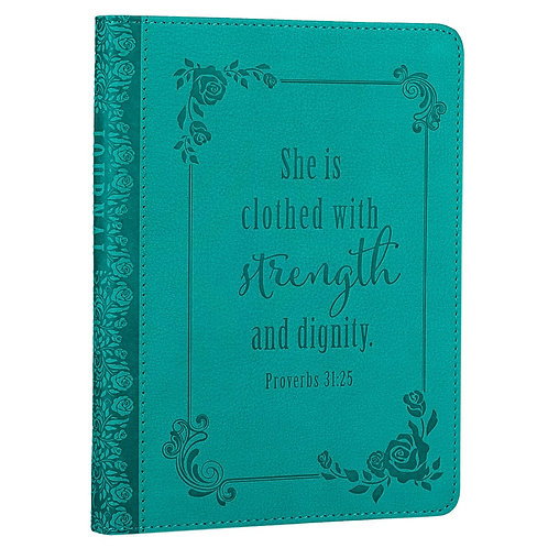 She Is Clothed In Strength Journal