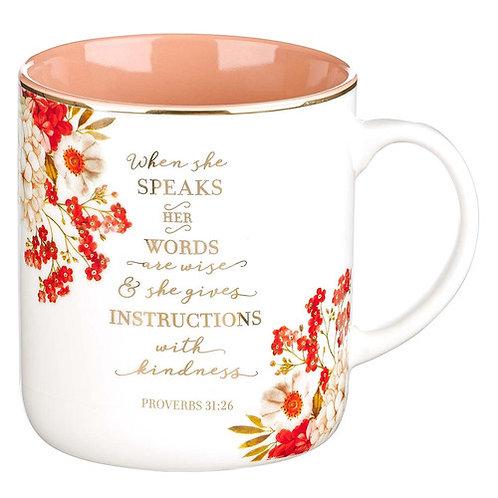 Proverbs 31:26 Mug