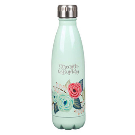 Strength & Dignity Water Bottle (Mint)