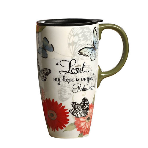 Lord My Hope Is In You Ceramic Mug